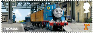 thomas the tank 1st thomas stamp