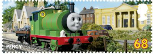 thomas the tank 68p percy stamp