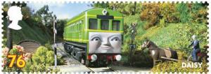 thomas the tank 76p daisy stamp