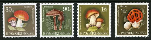 Strange-Stamps-Fungus-Albania