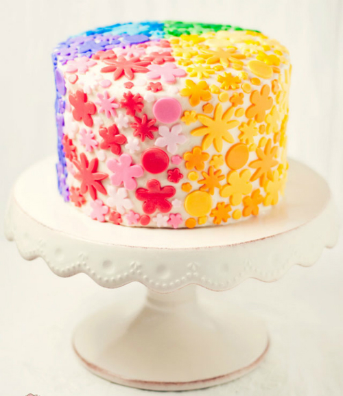 rainbow-flowers-cake
