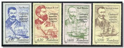 1997 Centenarul expeditiei antarctice Belgica