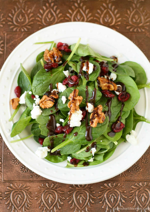 Spinach-Salad-with-Goat-Cheese-Craisins-and-Balsamic-Vinaigrette-1-of-2