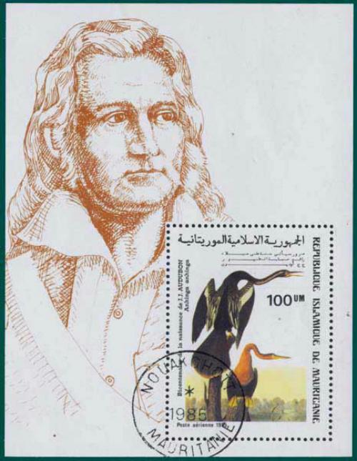 Mauritania-1985-Audubon-MS