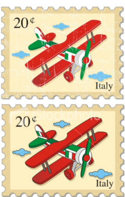 ist2_4940001-airplane-stamps-italy