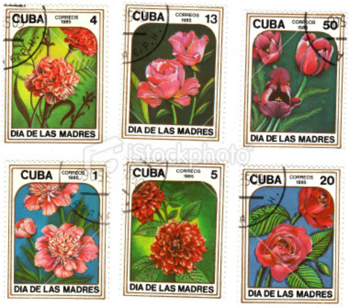 ist2_6741667-cuban-stamps-with-flowers