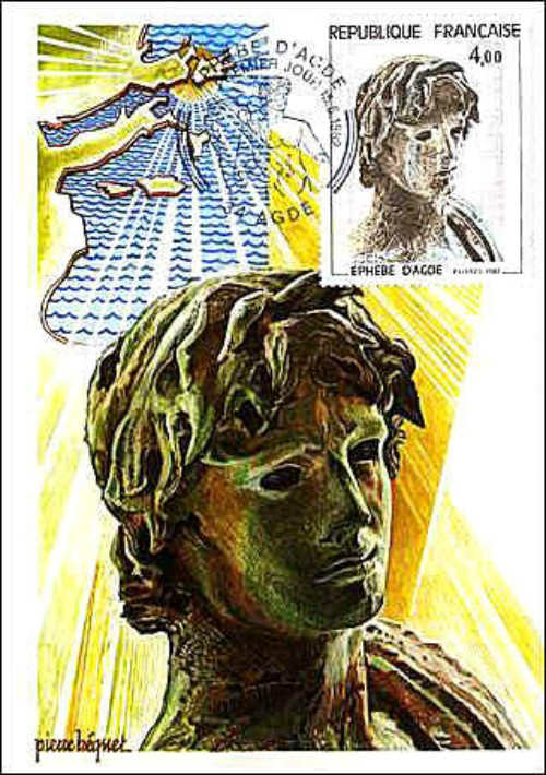 france1982-EphebeAgde-MaxiCard